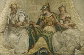 Veronese, Minerva with geometry a.arith.