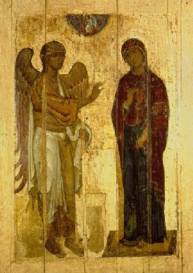 The Ustiug Annunciation c.1130-40