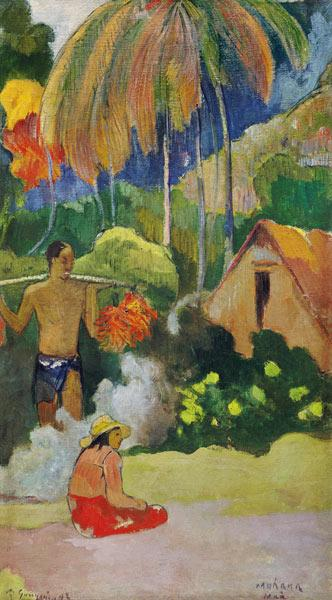 Gauguin, Paul : Landscape in Tahiti (Mahan...