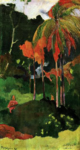 Gauguin, Paul : Mahana maa I