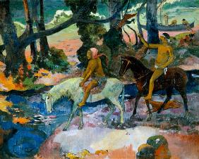 Gauguin, Paul : Die Furt
