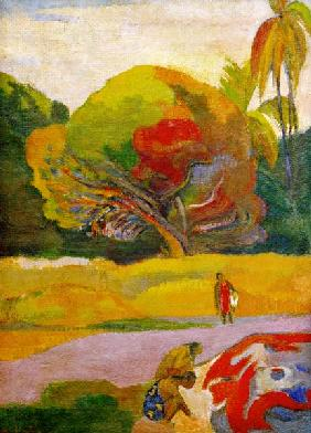 Gauguin, Paul : Frauen am Flu�