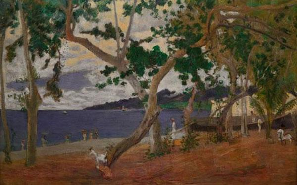 Gauguin, Paul : K�stenlandschaft