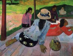 Gauguin, Paul : La Sieste