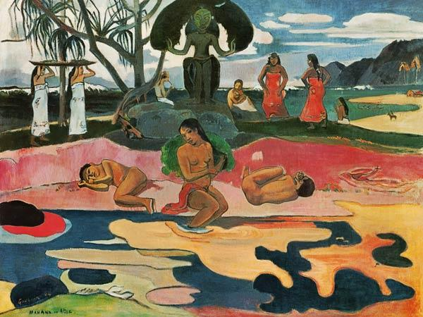 Gauguin, Paul : Mahana no atua
