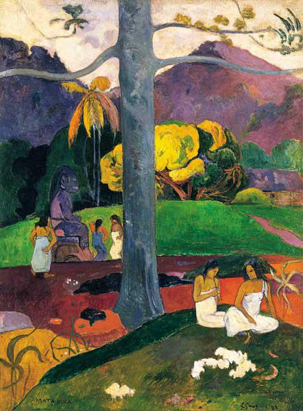 Gauguin, Paul : Mata mua