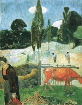 Gauguin, Paul : Die rote Kuh