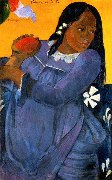 Gauguin, Paul : VAHINE NO TE VI (Frau in b...