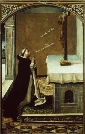 St. Peter Martyr (c.1205-52) at Prayer