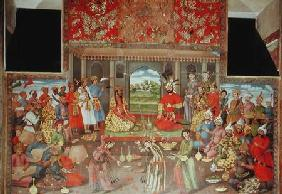 The Reception for the Ambassador of the Grand Moghul at the Court of the Shah Tahmasp 1573-76