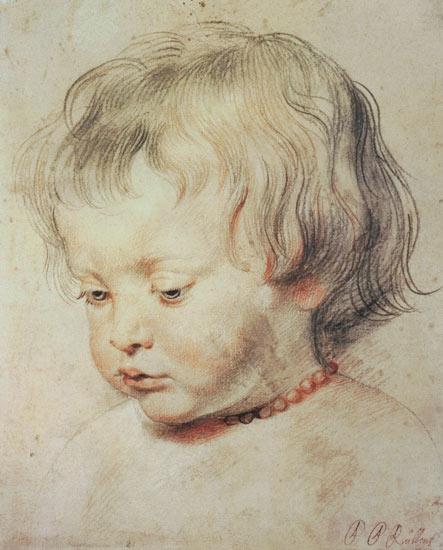 Bild: Peter Paul Rubens - Portrait of a Boy - phd497
