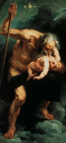 Rubens / Saturn devouring a Son