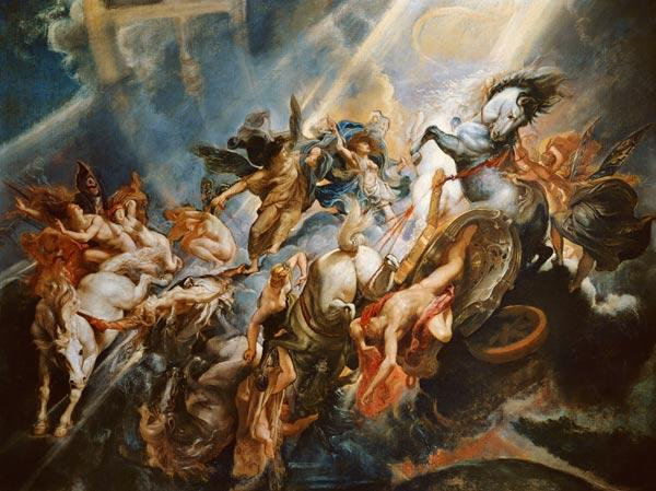 The Fall of Phaeton c.1604-08 17th