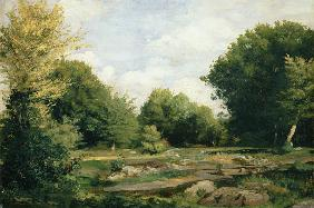 Clearing in the Woods 1865