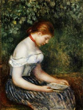 The Reader (A Young Girl Seated)