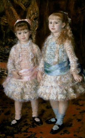 Pink and Blue or, The Cahen d'Anvers Girls 1881