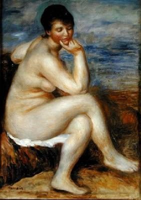 Bather Seated on a Rock 1882