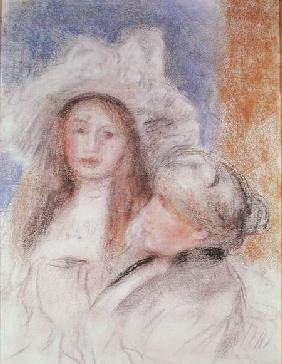 Berthe Morisot (1841-95) and her Daughter Julie Manet (1878-1966)