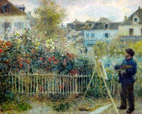 Claude Monet painting / Renoir