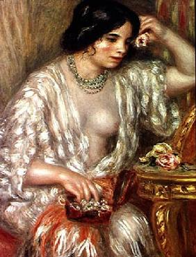 Gabrielle with Jewellery 1910