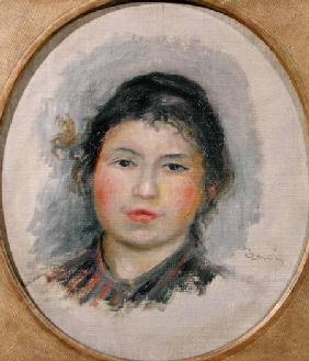 Head of a Young Woman 1901-02
