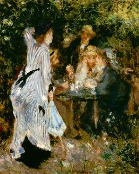 In the Garden, or Under the Trees of the Moulin de la Galette 1875