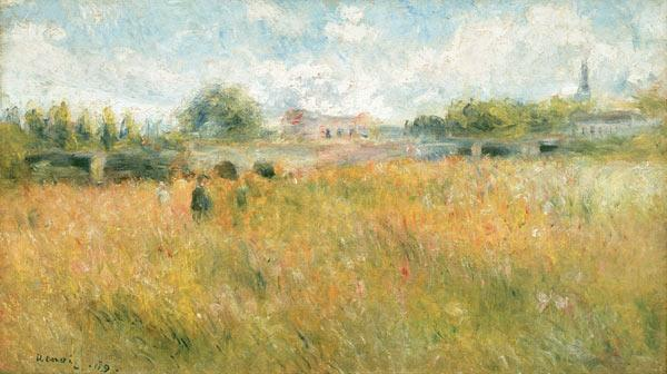 Renoir / Landscape at the Seine / 1879