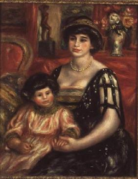 Madame Josse Bernheim-Jeune and her Son Henry 1910