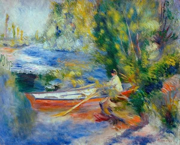Renoir / On the bank o.a river / 1878/80