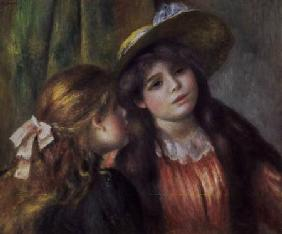 Portrait of Two Girls c.1890-92