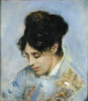 Portrait of Madame Claude Monet 1872