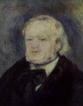 Portrait of Richard Wagner (1813-83) 1893