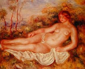 The Reclining Bather (La Baigneuse Couchee)