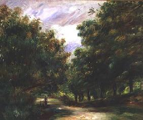 The road near Cagnes 1905