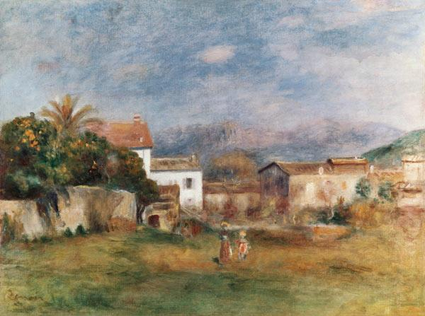View near Cagnes 1903/05