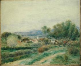 View of La Seyne, Provence c.1890