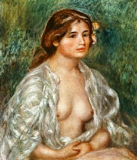 Woman Semi-Nude