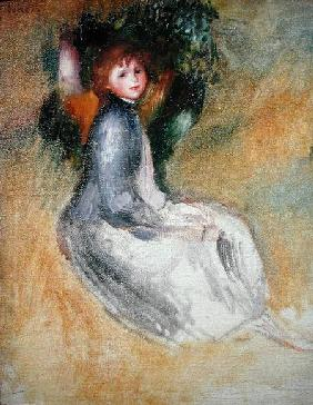 Young Girl Seated 1885