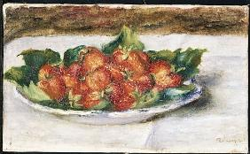 Still Life with Strawberries, c.1880