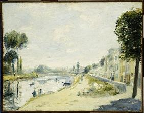 The Banks of the Seine at Bougival, c.1875