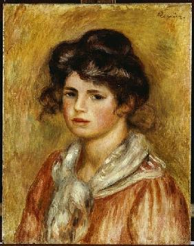 Young Girl with a White Handkerchief