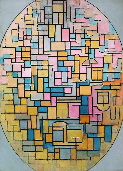 Tableau III: Composition in Oval 1914