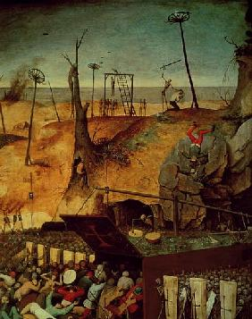 The Triumph of Death, c.1562 (detail of 457)
