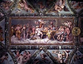 The Banquet of the Gods, Ceiling Painting of the Courtship and Marriage of Cupid and Psyche