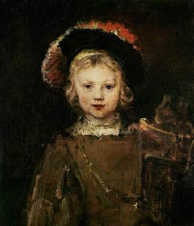 Young Boy in Fancy Dress c.1660