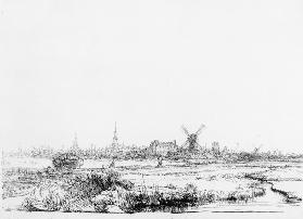 View of Amsterdam c.1640