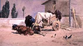 La Siesta: Scene in the Eastern Pyrenees 1872