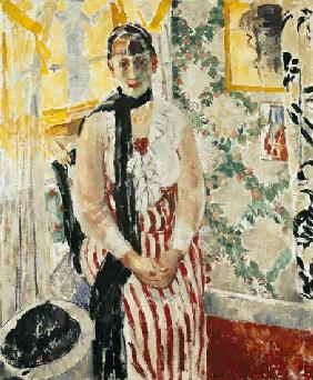 Portrait of Nel Wouters (b.1880) 1912