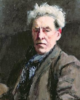 Self Portrait, 1928 (oil on board)