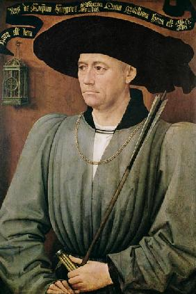 Portrait of Jean Lefevre de Saint-Remy (1396-1468)